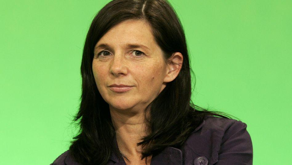 Urwahl der Grünen: Triumph einer Ungeliebten