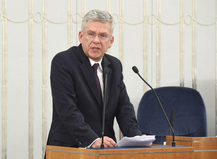 Stanislaw Karczewski in Warschau
