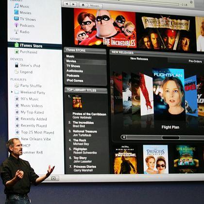Apple-Boss Jobs: Der Online-Musikladen iTunes dominiert das Web-Geschäft