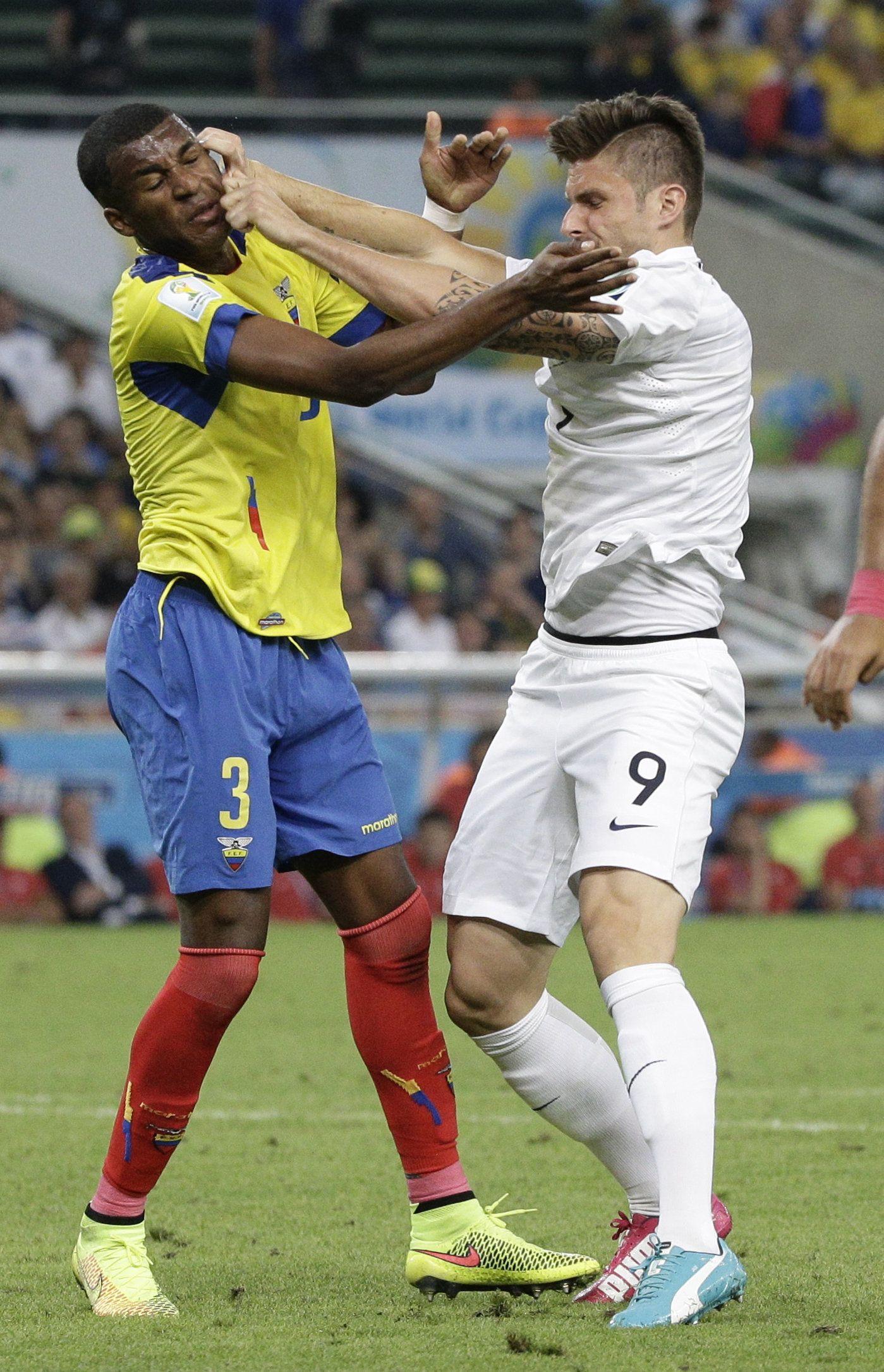 Brazil Soccer WCup Ecuador France