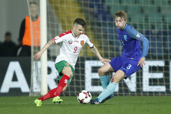 2017 debütierte Matthijs de Ligt (r.) für die Niederlande gegen Bulgarien und erlebte ein Debakel