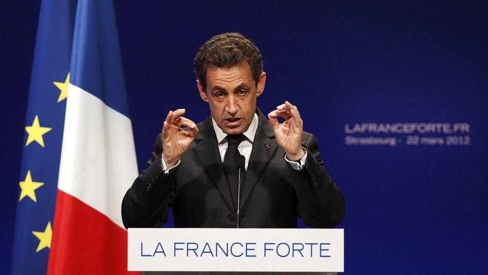Frankreichs Präsident Sarkozy: Strafverfolgung für das Aufsuchen von Websites?