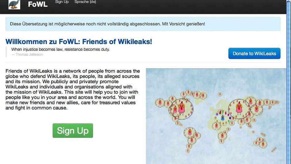 """""""Friends of WikiLeaks"""": """"Gemeinsam produktiv und effizient arbeiten"""""""