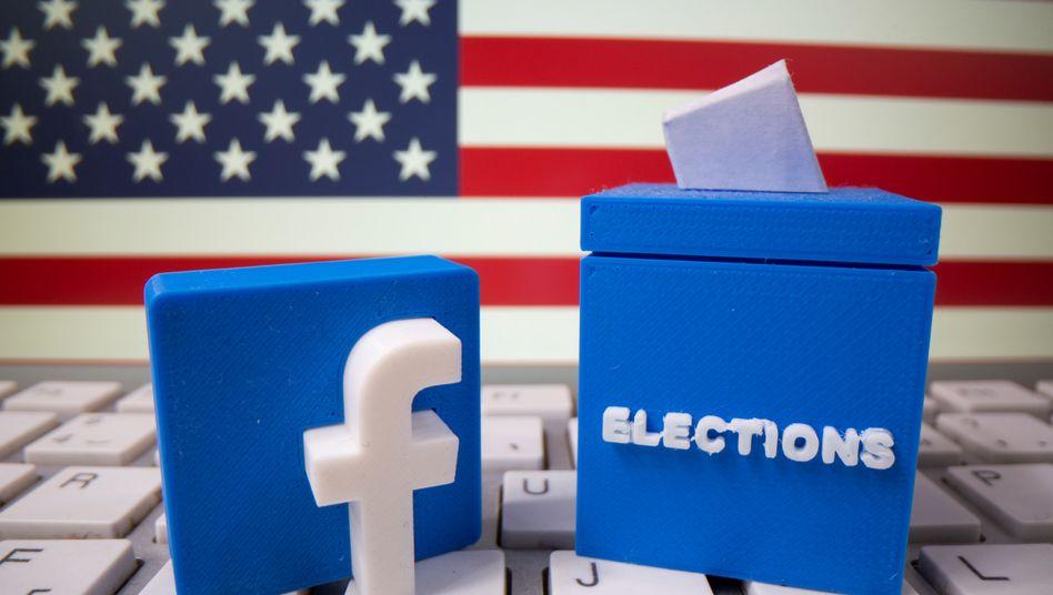 Vor der US-Wahl räumt Facebook auf