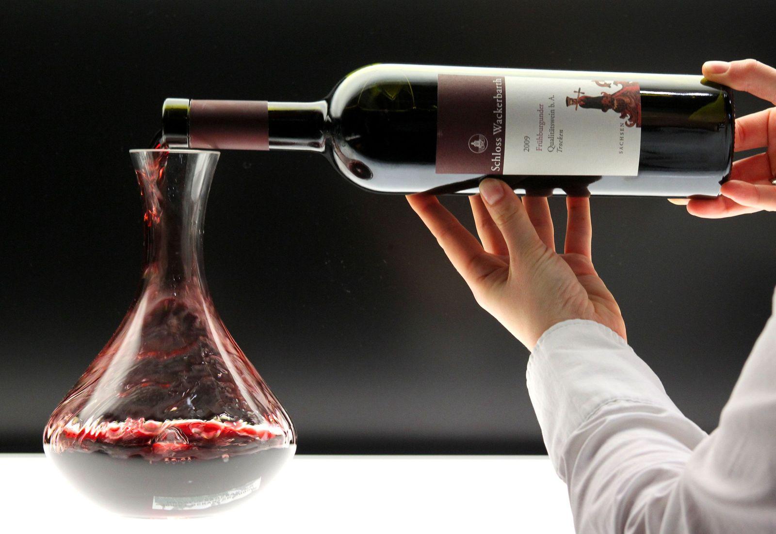 Gesundheit Wein / Rotwein / Karaffe (Kopie)