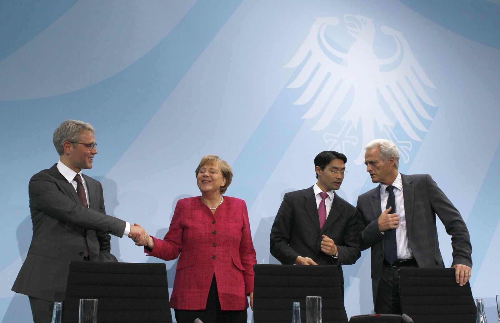 Merkel/ Atomausstieg