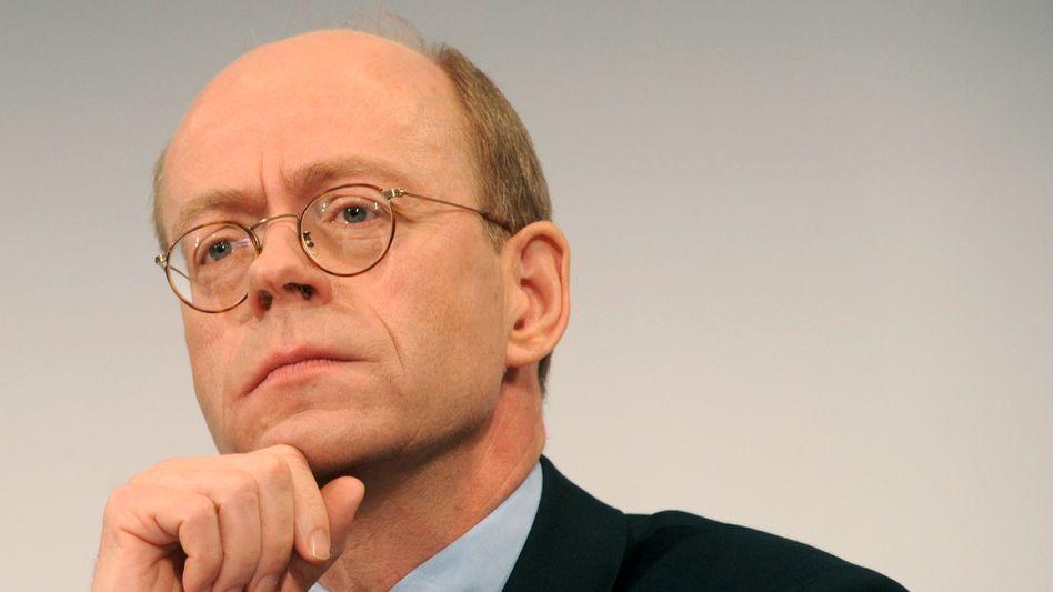 Munich Re CEO Nikolaus von Bomhard.