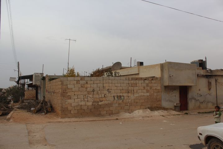 Haus von Haji Bakr: Hier lagen die Pläne für den Eroberungsfeldzug in Syrien