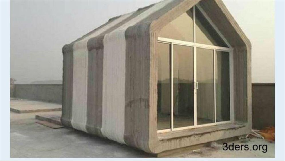 Beton statt Tinte: Ausgedrucktes Wohnhaus