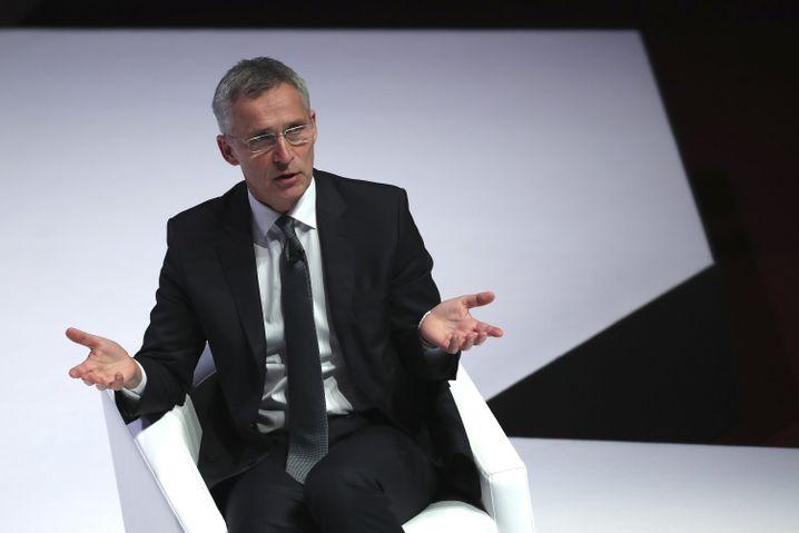 Frohsinn sieht anders aus: Nato-Generalsekretär Jens Stoltenberg