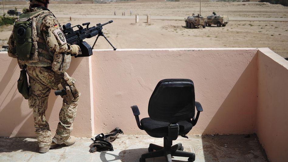 Bundeswehrsoldat in Kunduz: Jeder fünfte startet mit psychischen Problemen in den Einsatz