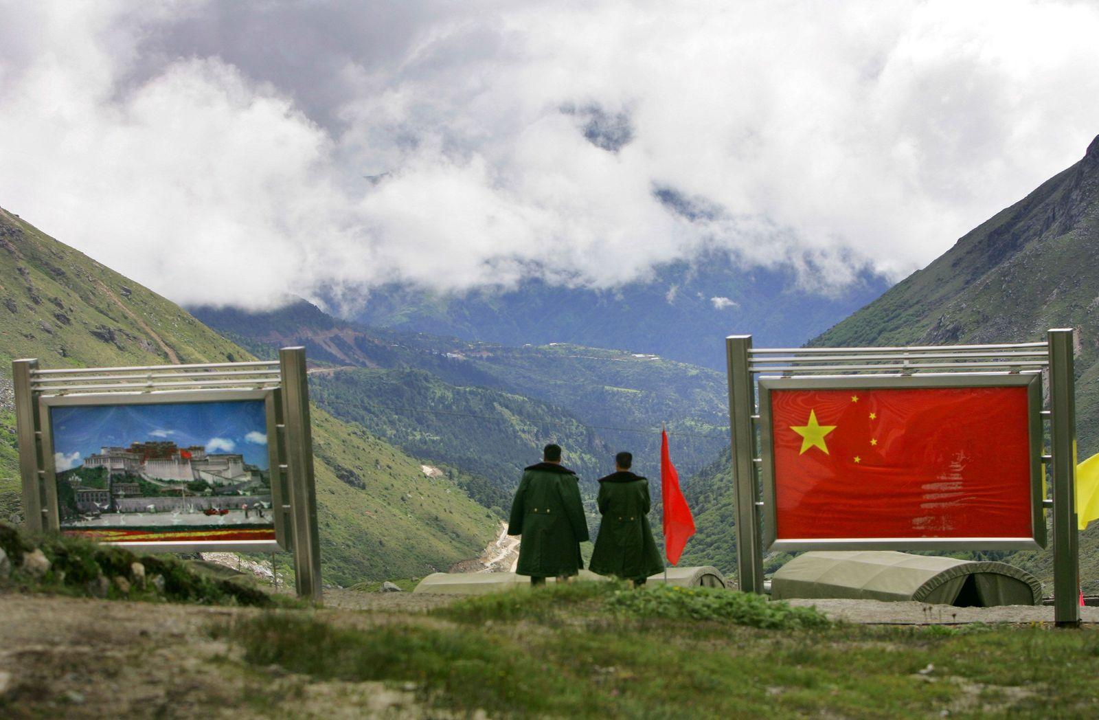 Indien / China/ Grenze/ Sikkim