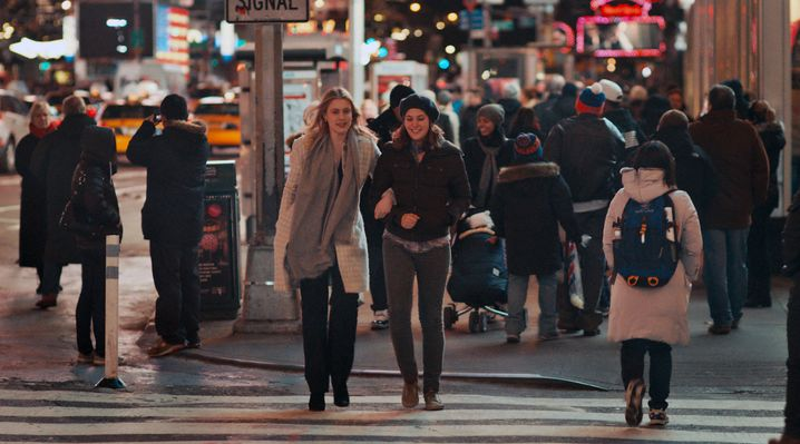 Plötzlich Schwestern: Brooke (Greta Gerwig, l.) und Tracy (Lola Kirke)