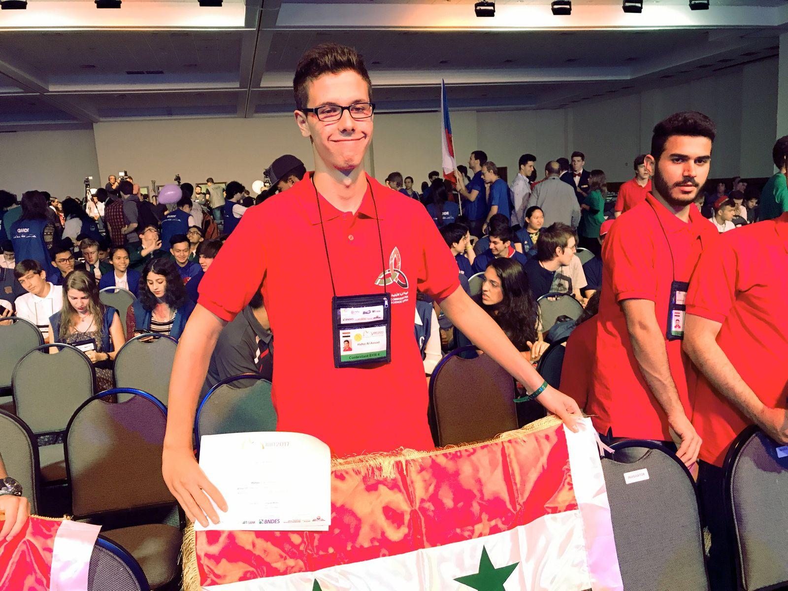 Mathematik-Olympiade - Hafez al-Assad