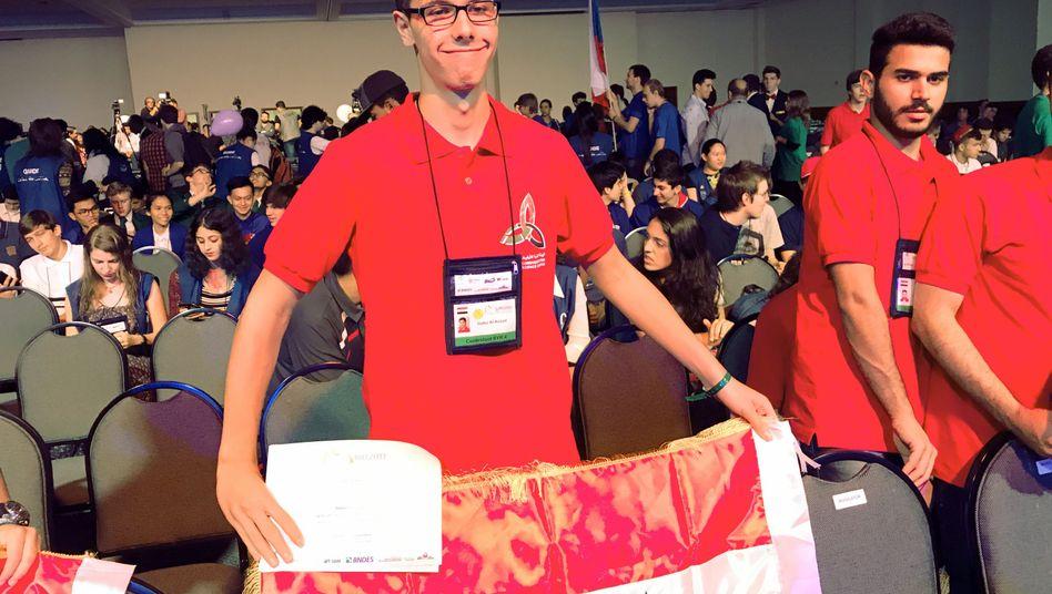 Hafez al-Assad bei der Mathe-Olympiade in Rio