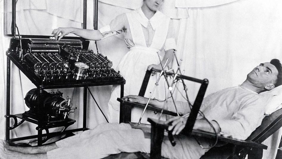 Starkstromtherapie im Ersten Weltkrieg: Veteranen unter Schwächlingsverdacht