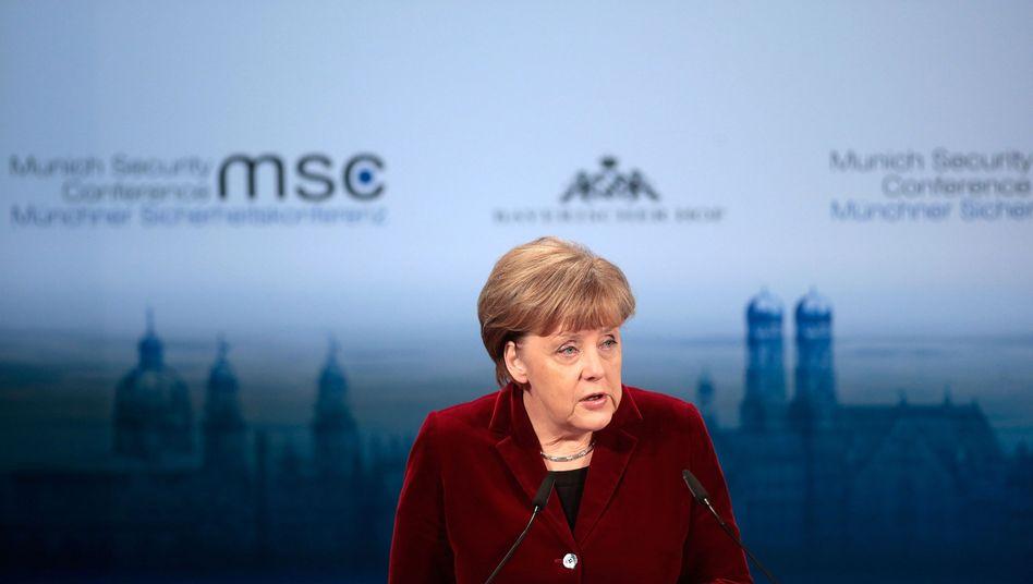 Vermittlerin in der Ukraine-Krise: Merkel zwischen den Fronten