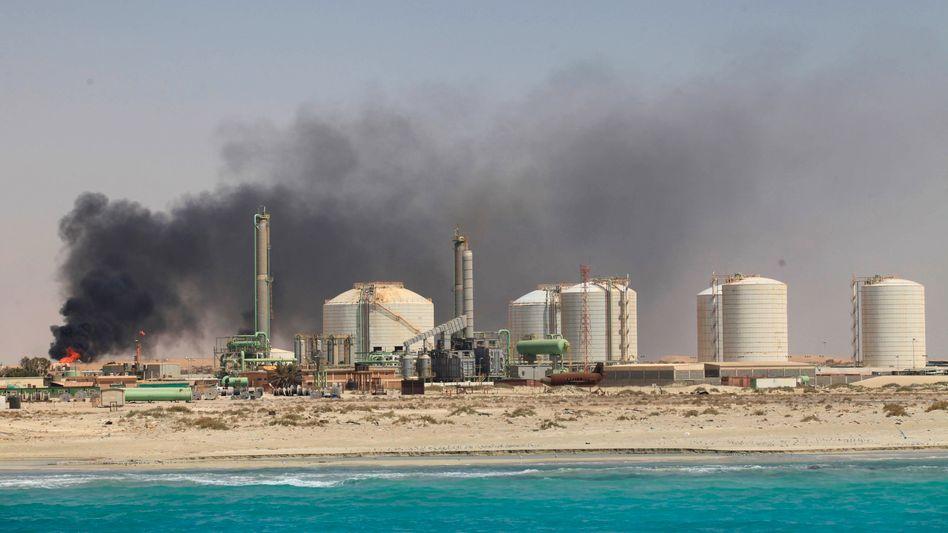 Öl-Terminal in Libyen (Archivbild): Konflikt um gekaperten Hafen Es Sider eskaliert