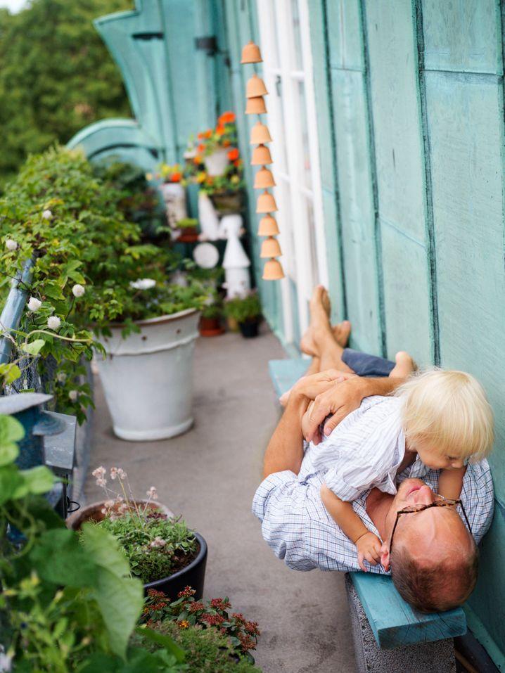 Balkon für Familien: Ein weiteres Zimmer für Eltern und Kinder