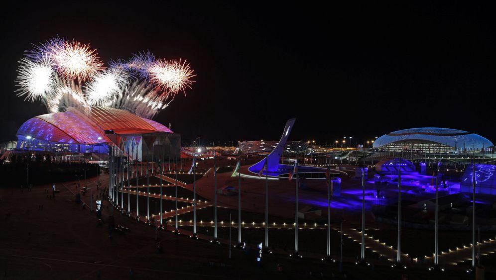 Olympische Winterspiele: Die besten Bilder der Eröffnungsfeier