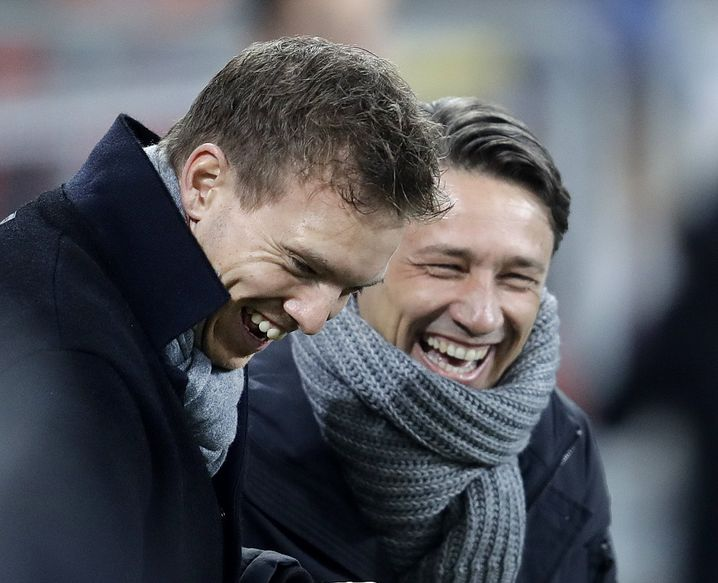 Julian Nagelsmann (links) und Niko Kovac