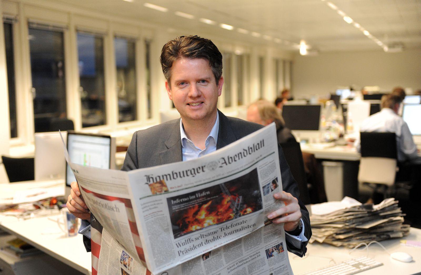 «Hamburger Abendblatt»-Chefredakteur Lars Haider