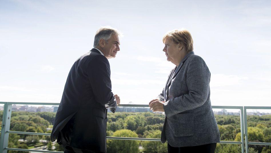 Kanzlerin Merkel, Österreicher Faymann: Informeller Gipfel am Mittwoch