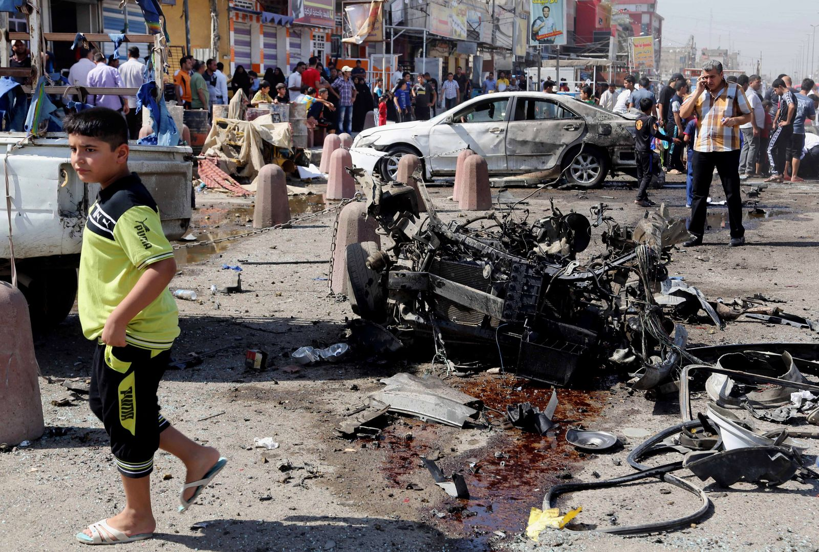 Irak / Anschlag