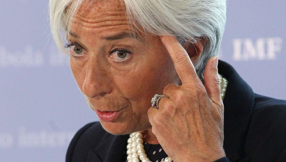 IWF-Chefin Christine Lagarde: Mehr Mitleid mit Afrika als mit Griechenland