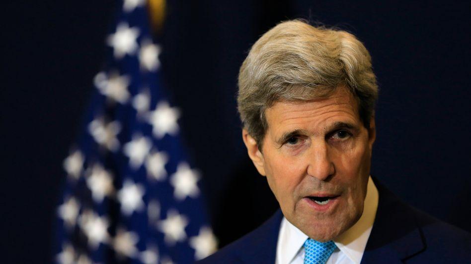 """US-Außenminister Kerry: """"Letztlich müssen wir reden"""""""