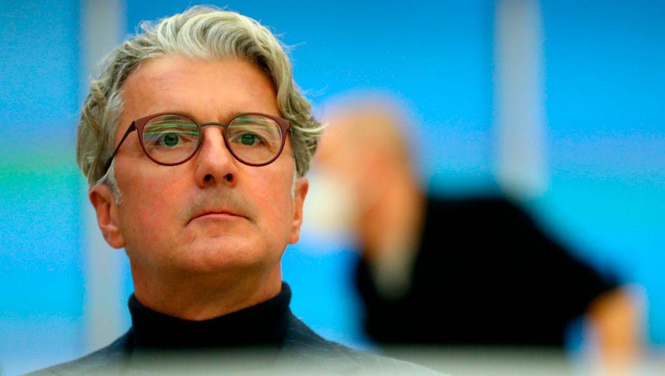 Ex-Audi-Chef Stadler beim Prozess in München