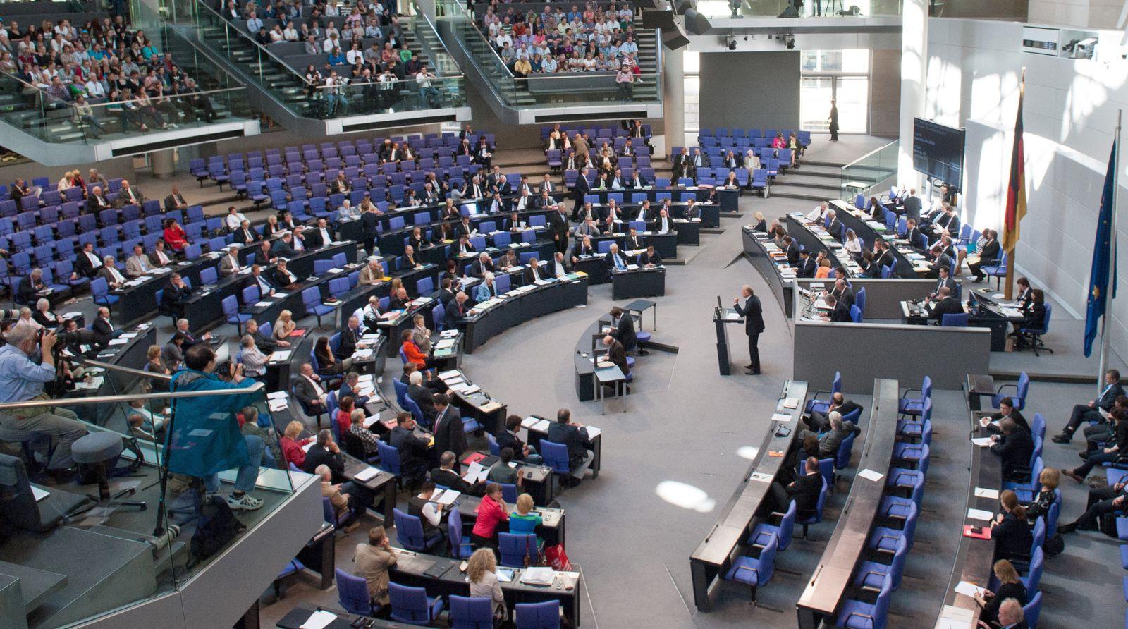 ängste Bundestags-Sondersitzung