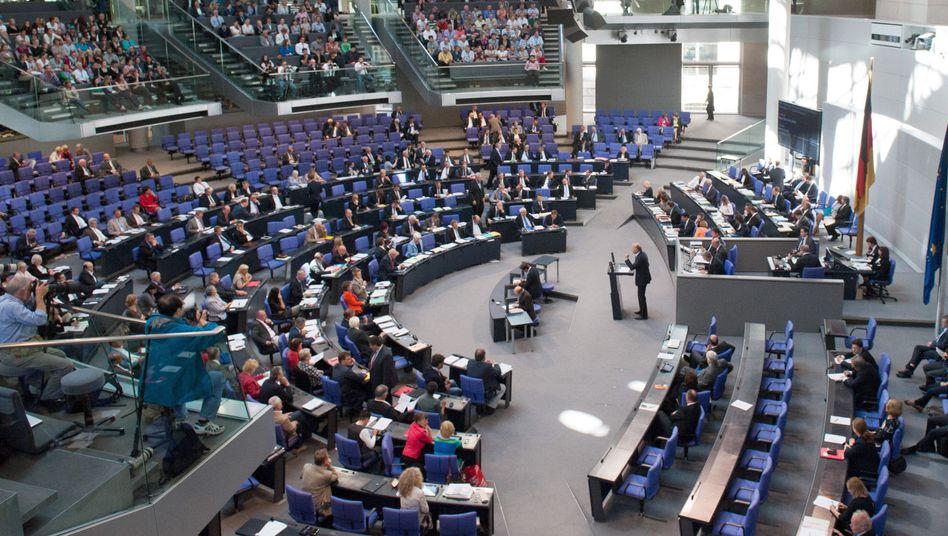 Bundestag in Berlin: Überhangmandate werden künftig ausgeglichen