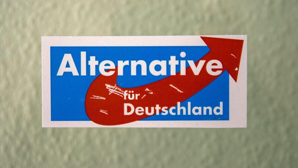 AfD-Schild in Mainz: Ahnemüller bleibt fraktionsloser Abgeordneter