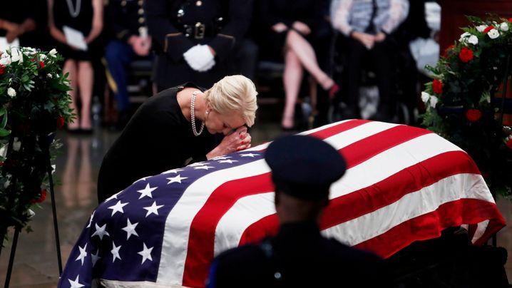 US-Senator: Abschied von McCain