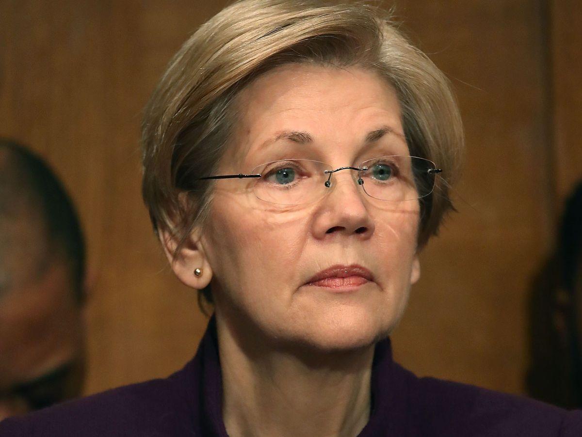 Elizabeth Warren: Redeverbot bei Streit über Donald Trumps