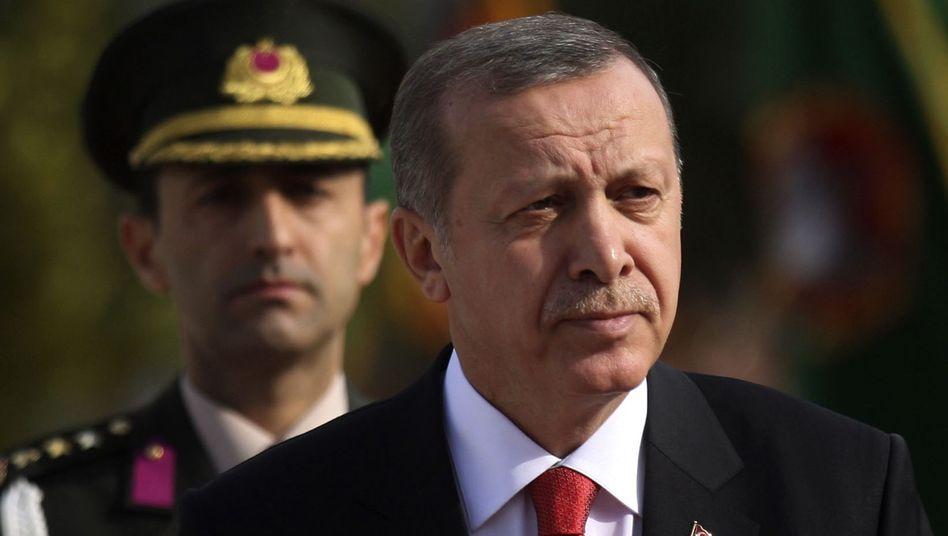 Türkischer Präsident Erdogan: Hadert mit der Geschichtsschreibung