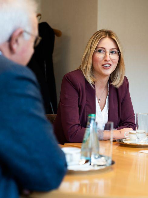 "Sarah Süß: ""Ich bin nervös, aber positiv"""