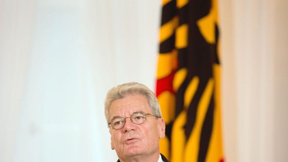 """Bundespräsident Gauck (Archivbild): """"Regelverstöße nimmt der Staat nicht hin"""""""