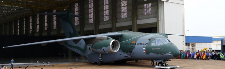 Brasilianischer Transportflieger vom Typ KC-390