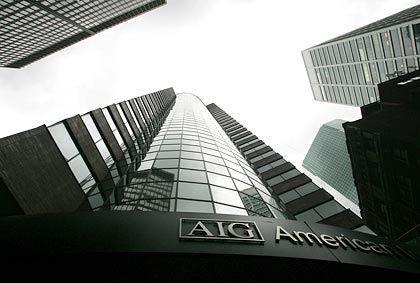 AIG-Gebäude in New York: Gesamtpaket von 150 Milliarden Dollar