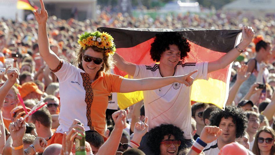 Fanmeile bei der Europameisterschaft 2012: Hohes Ansehen in der Welt