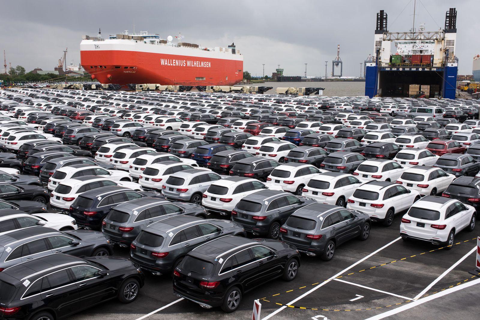 Deutschland / Konjunktur / Auto-Export / Bremerhaven