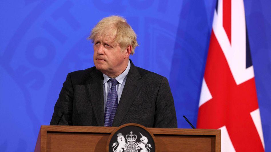 Boris Johnson: »Ich denke, es ist sinnvoll, noch ein wenig länger zu warten«