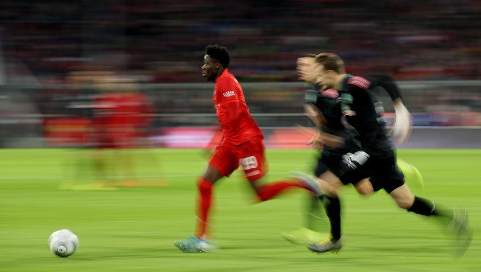Bayerns Alphonso Davies: Exzellenter Balleroberer