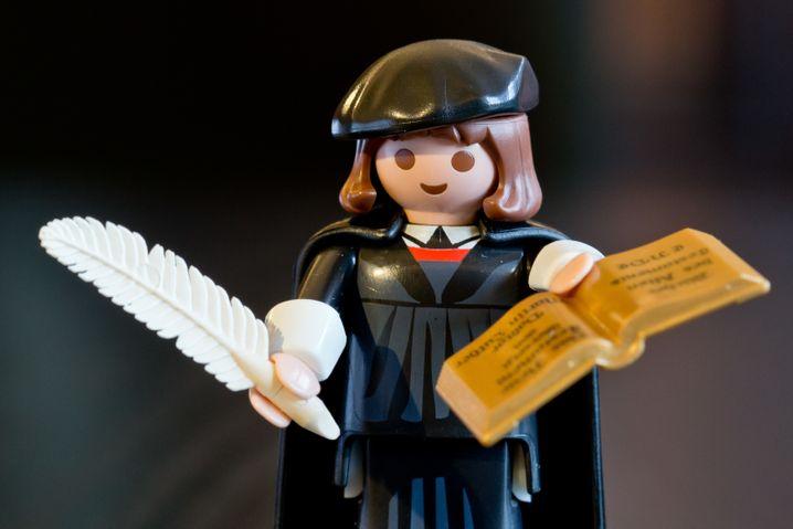 Martin Luther als Playmobil-Figur