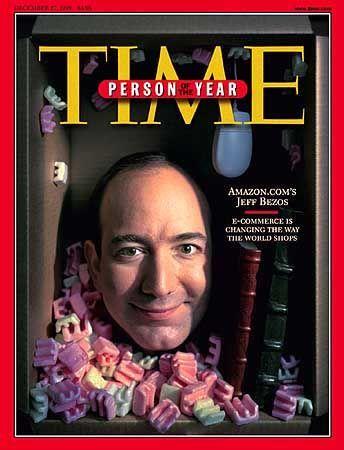 """Pionier des E-Commerce: Jeff Bezos auf dem """"Time""""-Cover"""