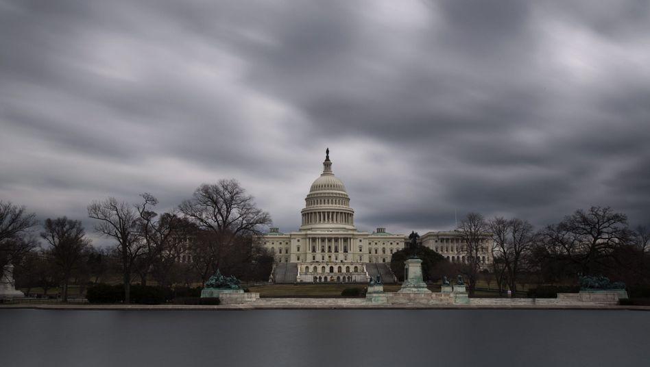 """US-Kongress: Absperrung als """"Vorsichtsmaßnahme"""""""