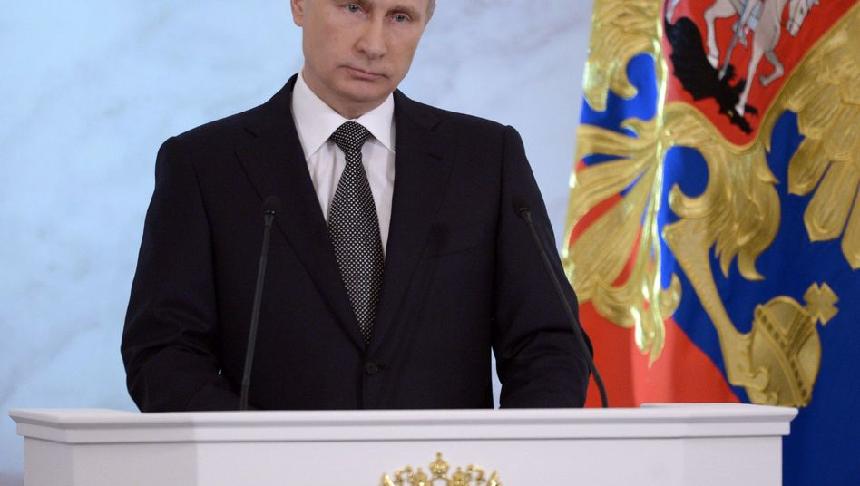 Russlands Präsident Putin: Kritik an umstrittener Krim-Rede