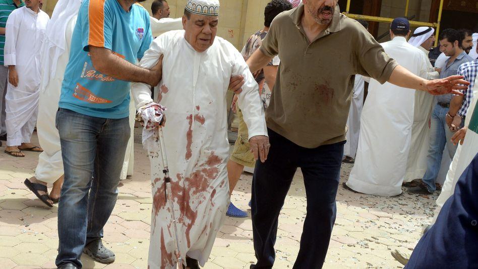 Überlebende des Attentats in Kuwait: Anschlag auf die schiitische Minderheit